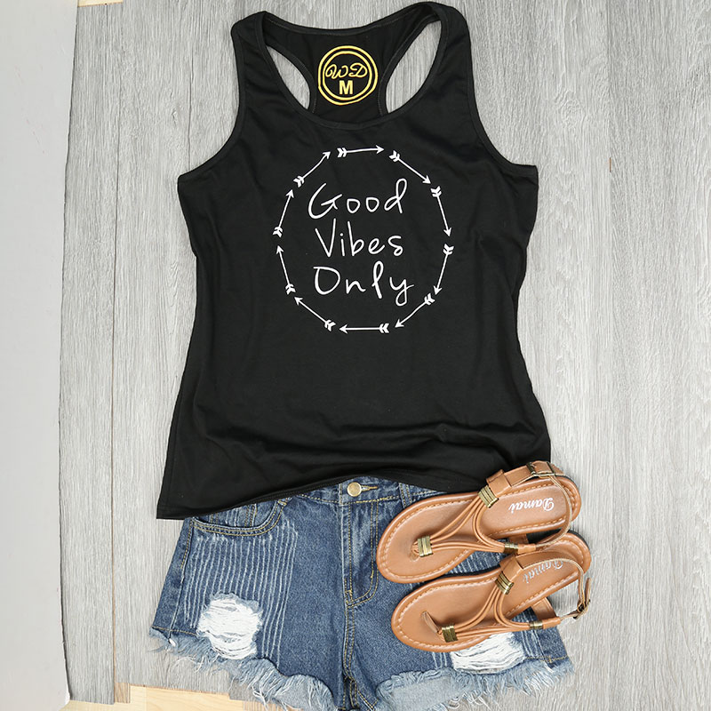 2E8A-GOOD-VIBES-ONLY-Arrow-Print-Sleeveless-Crop-Top-Cami-Halter-Shirt-Tank