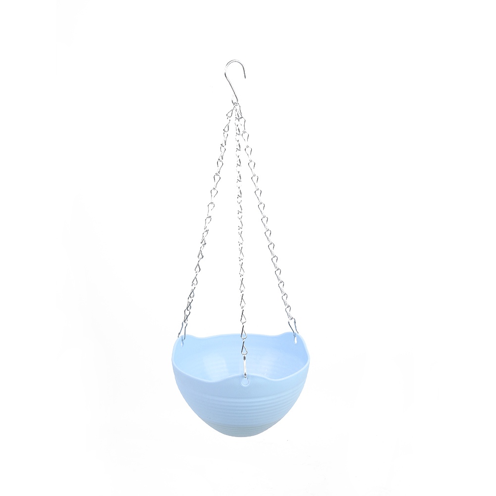 2460-Garden-Balcony-Resin-Hanging-Planter-Green-Plant-Flower-Pot-with-Chain