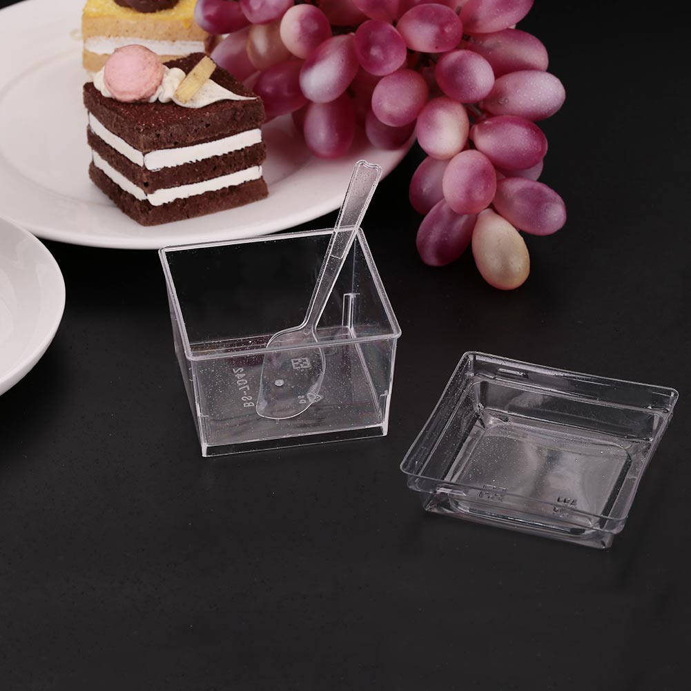 9836-Summer-Square-Disposable-Smoothie-Cup-Spoon-Slush-Dessert-Ice-Cream-Bowls