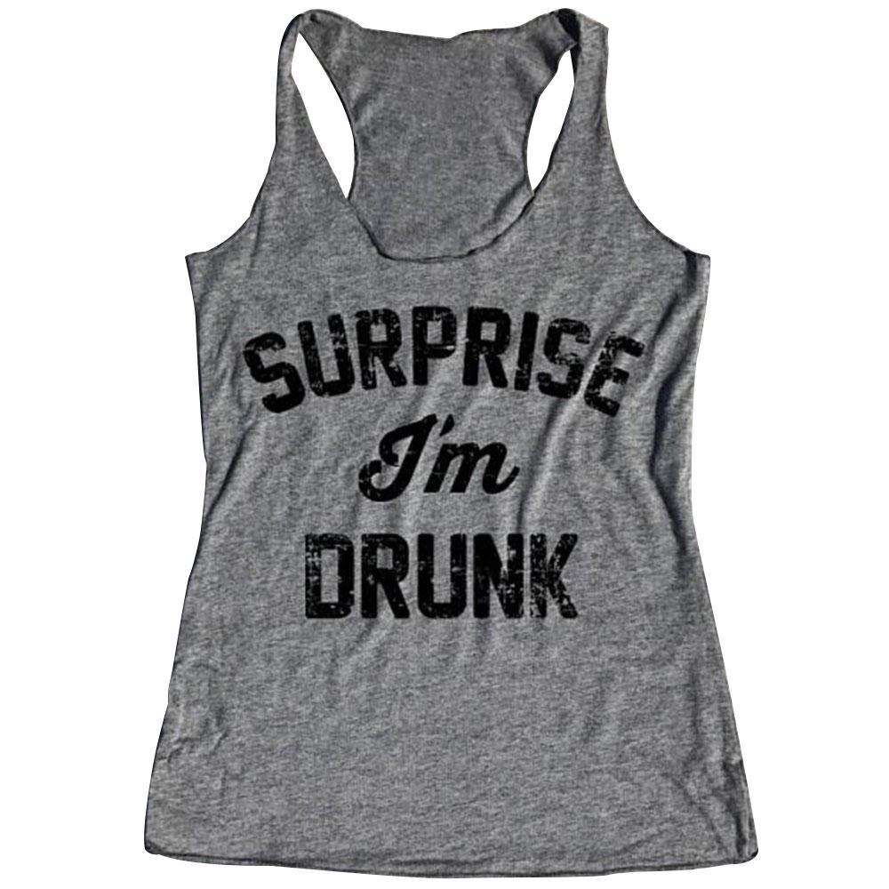 928D-Surprise-I-039-m-Drunk-Fashion-Women-Summer-Sleeveless-Tank-Top-Vest-T-Shirt
