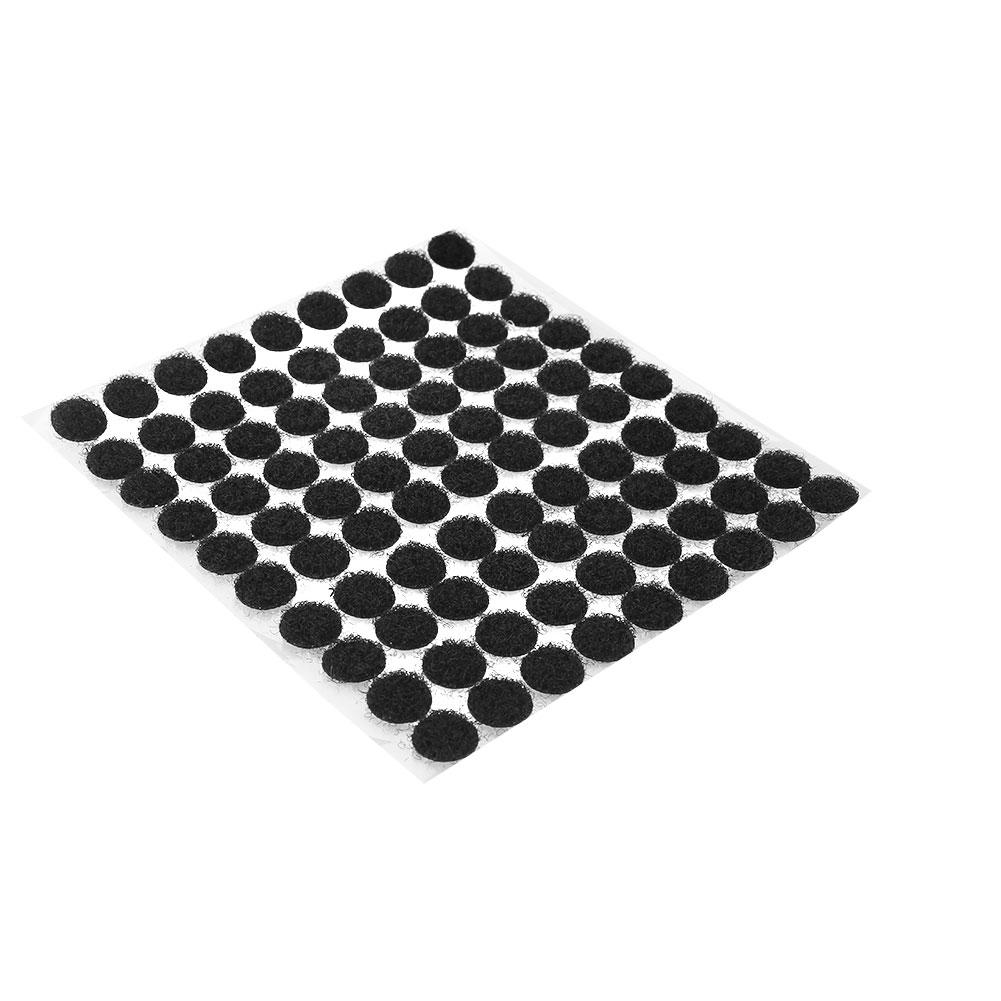 7788-99Pcs-Black-White-Nylon-Patches-Double-Sided-Adhesive-Fastener-Bag-Hats