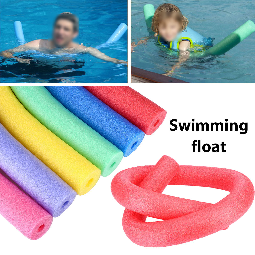 2BA3-Swimming-Pool-Flexible-Seat-Noodle-Tube-Hollow-Water-Floating-Adult-Aid