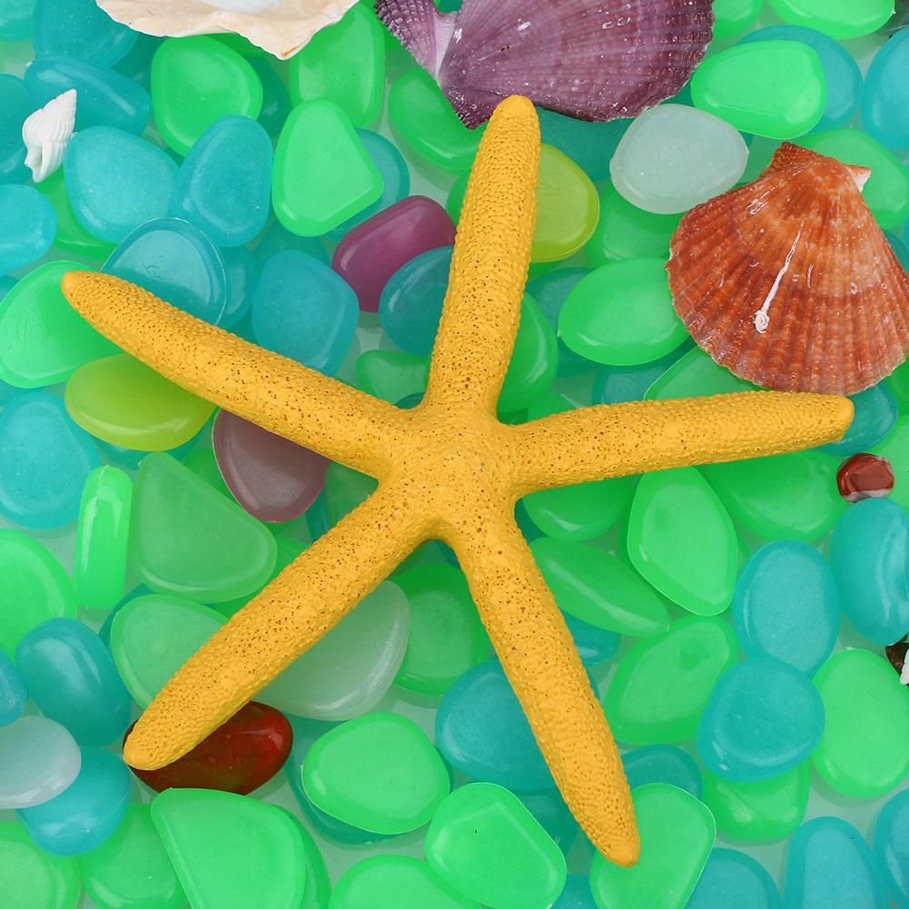 B75D-13CM-Natural-Resin-Fingers-Starfish-Ornament-Aquarium-Decoration-Gift-Cute