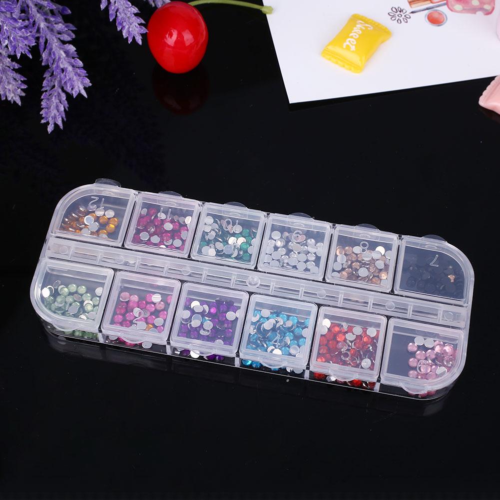 51D6-Nail-Art-Technician-3000Pcs-Box-Round-Diamonds-DIY-Tool-Cosmetic-Decor