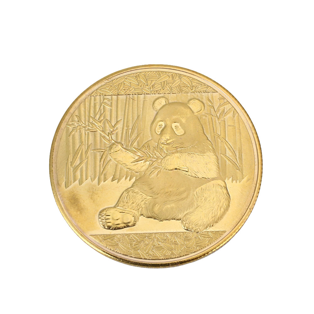 06D1-Chinese-Panda-Coin-SS17-Commemorative-Souvenir-Art-2-Color-Metal-2017