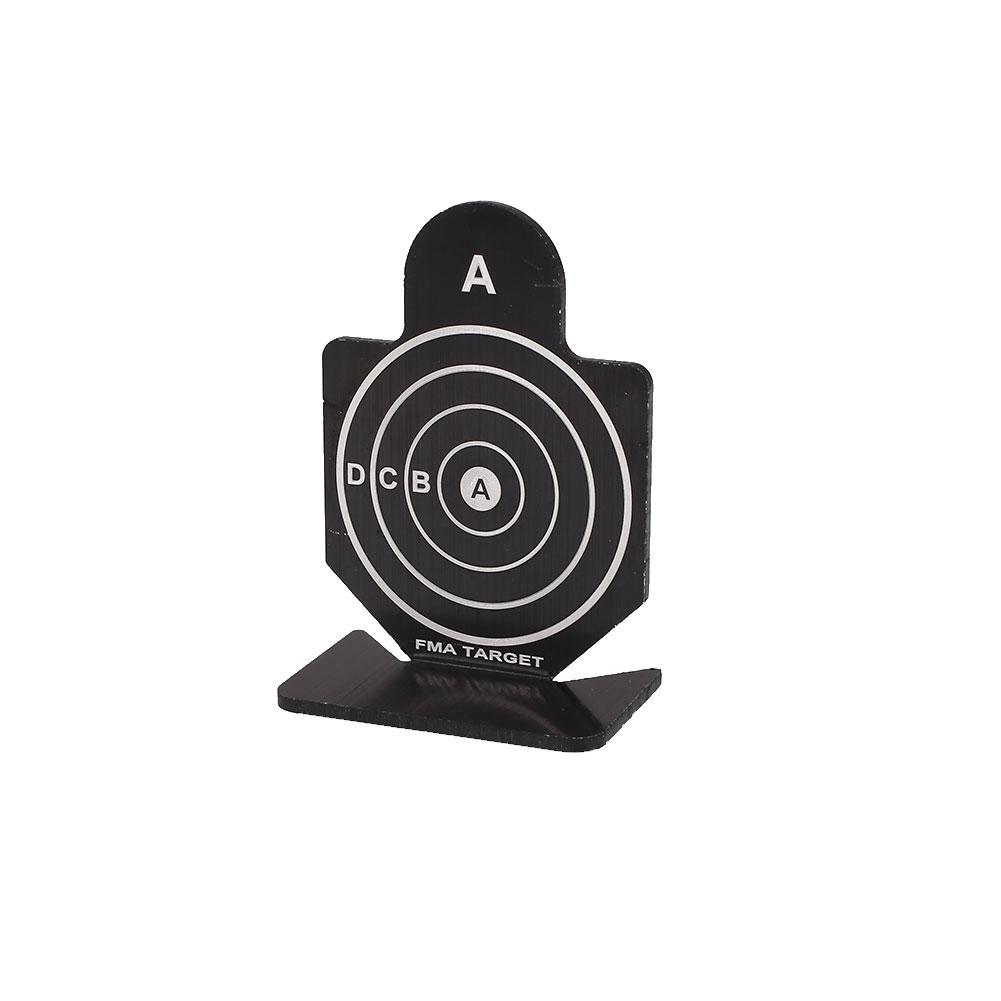 Metal Airsoft Tactical Hunting AIM AIM AIM Shooting Target Set Kit pratique accessoire 2cd815