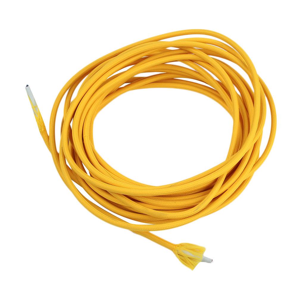 1F1A-2M-Retro-Light-Twist-Braid-Wire-Accessories-Electric-Color-PVC-Jacket-For