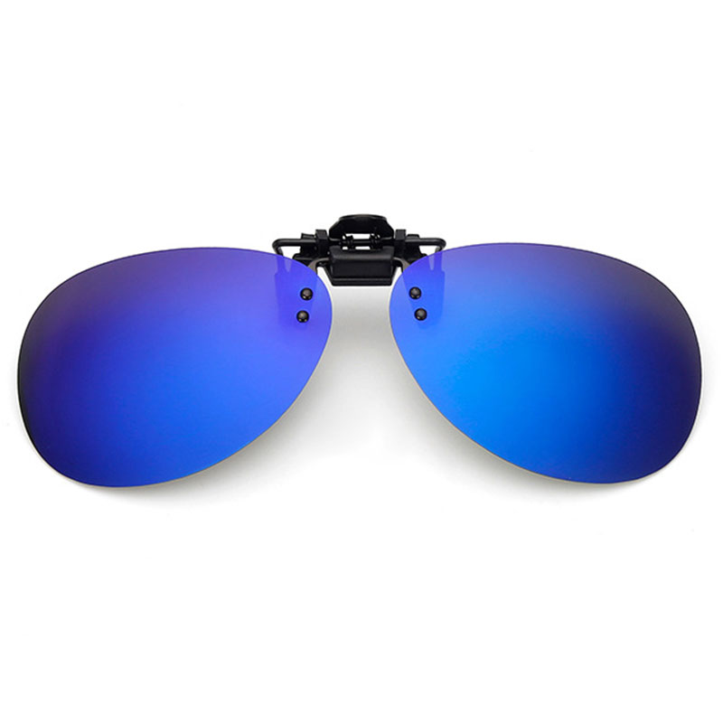 3ED5-Polarized-Lens-Clip-On-Flip-Up-UV400-Night-Viewing-Tourism-Game-Sunglasses