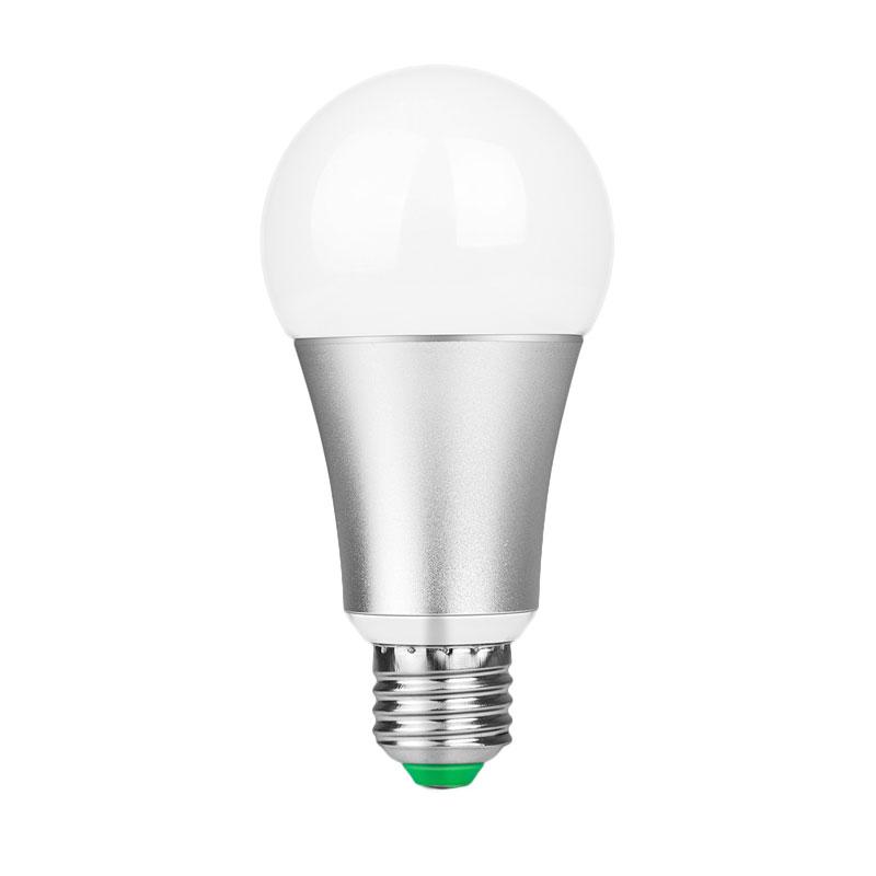 204A-10W-RGB-W-E27-LED-Bulb-Lamp-Aluminum-120-Colors-Remote-Control-AC-85-265V