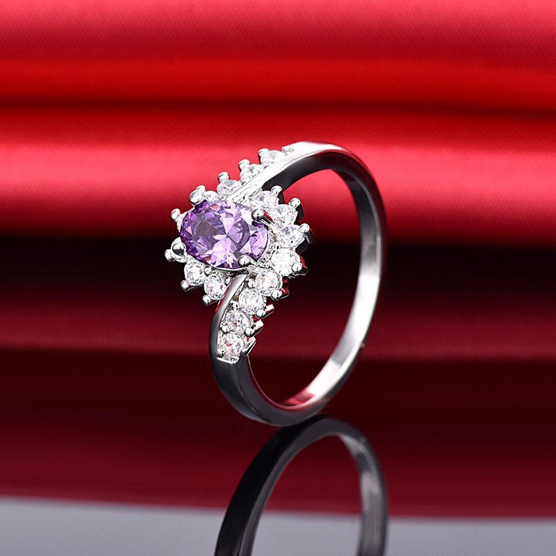 34C1-Exquisite-925-Sterling-Silver-Sapphire-Gemstones-Bride-Engagement-Ring