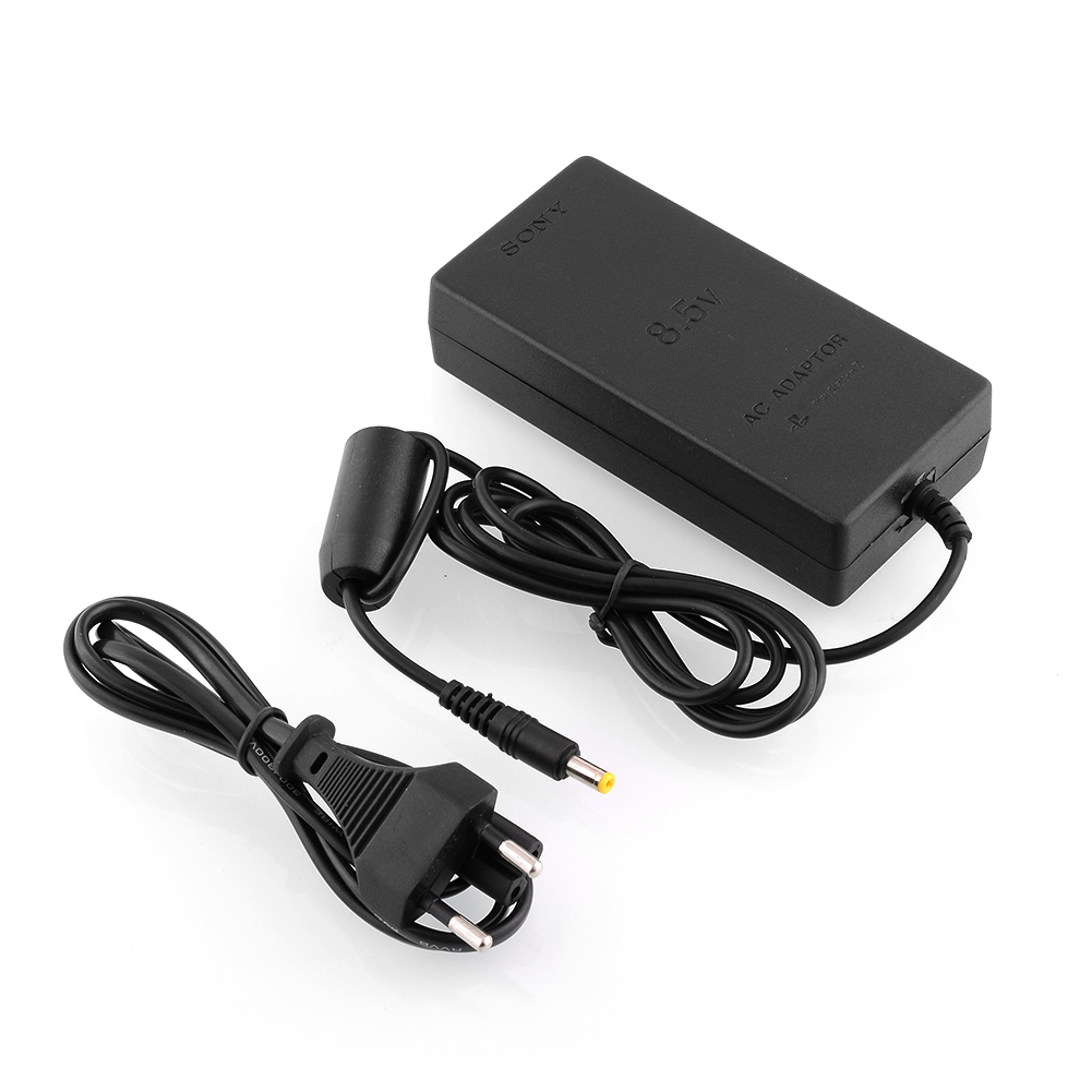 4410 Hot Eu Plug Ac Adapter Power Supply Cable Cord For Sony Ps2 Slim Wire Diagram Black