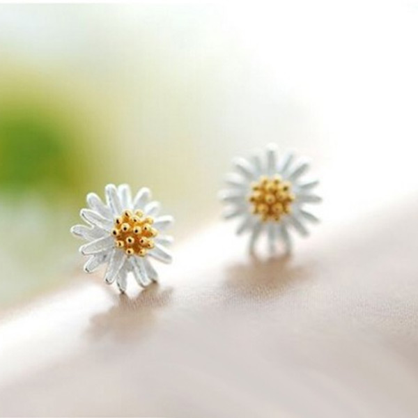 8D52-Hot-Fashion-Lovely-Women-925-Sterling-Silver-Daisy-Flower-Earring-Ear-Stud