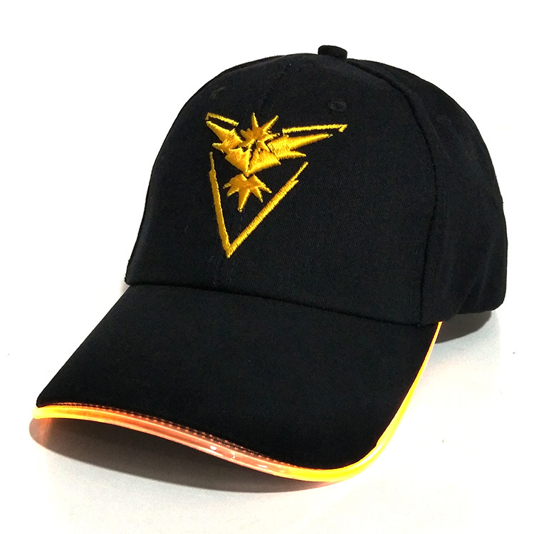 8728-New-Fashion-LED-Light-Pokemon-Go-Cap-Hat-Team-Valor-Instinct-Baseball