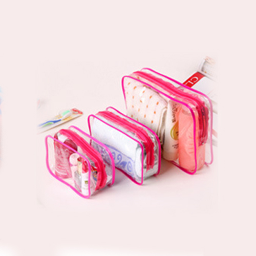 8835-Transparent-Plastic-PVC-Makeup-Cosmetic-Travel-Zip-Bag-Pouch-Random-color