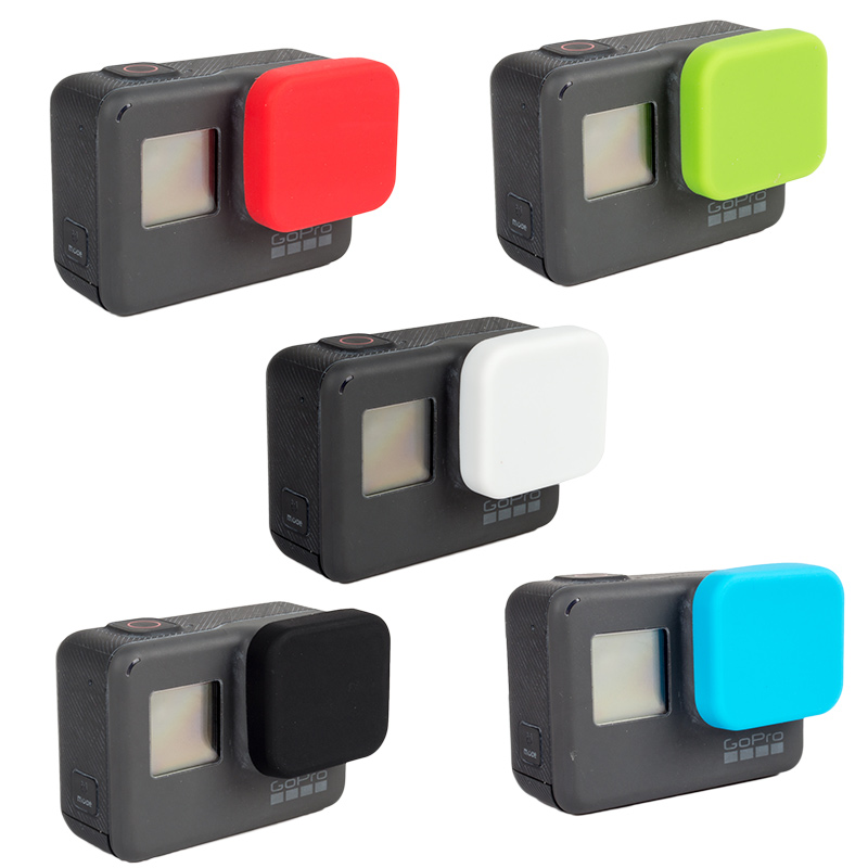 3553-New-Silicone-Lens-Lenses-Cap-Cover-Case-Protective-For-GoPro-Hero-5-Black