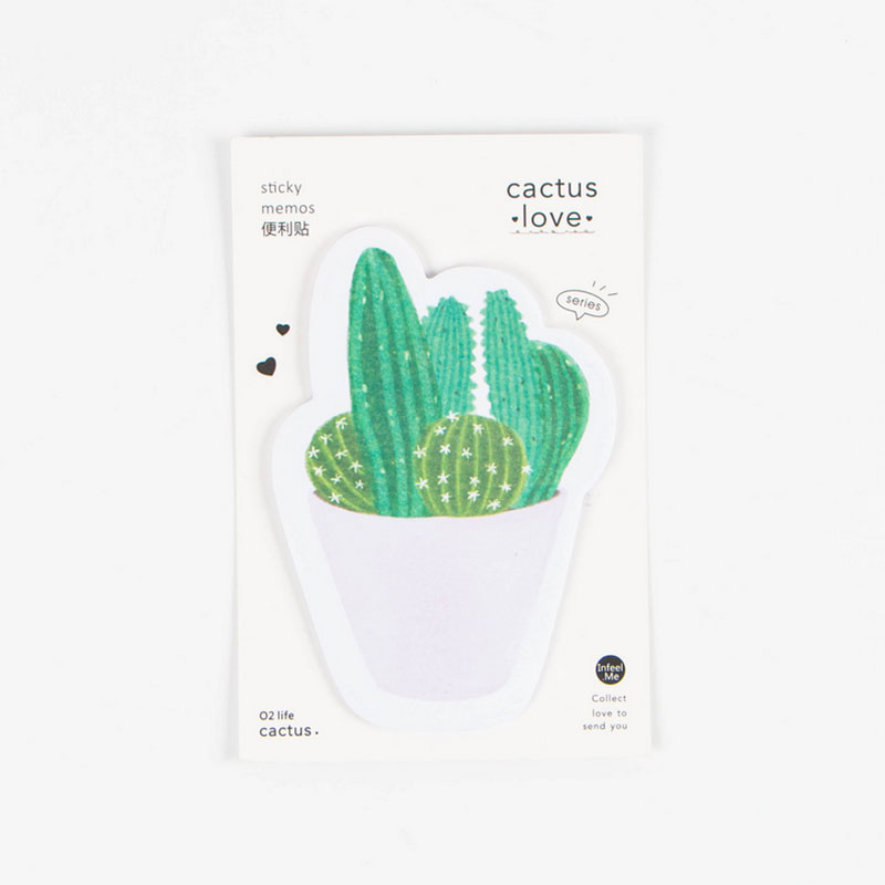 8A0B-Cactus-Love-Model-Shape-Type-kawaii-School-Memo-Pad-Paper-Sticky-Notes
