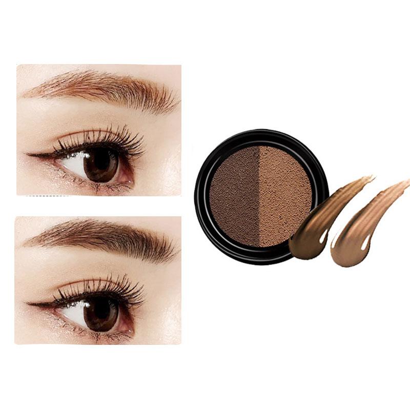 3169-Double-Featherin-Waterproof-Cushion-Brush-Eyebrow-Women-Decoloring-Dyed