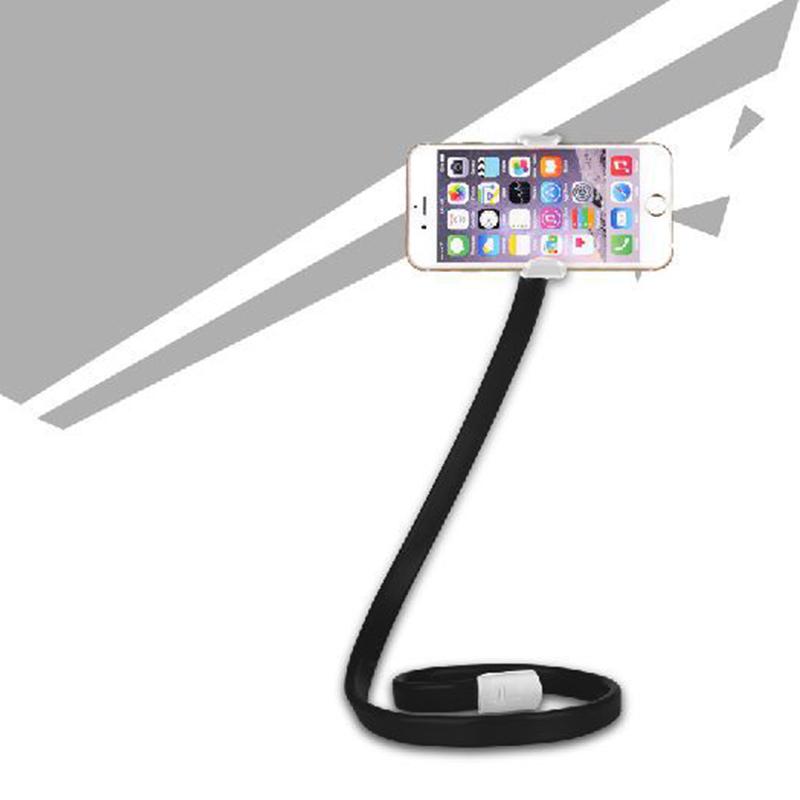 7616-Mobile-Phone-Base-Sucker-Car-Holder-Lazy-Bracket-Phone-Support-Convenient