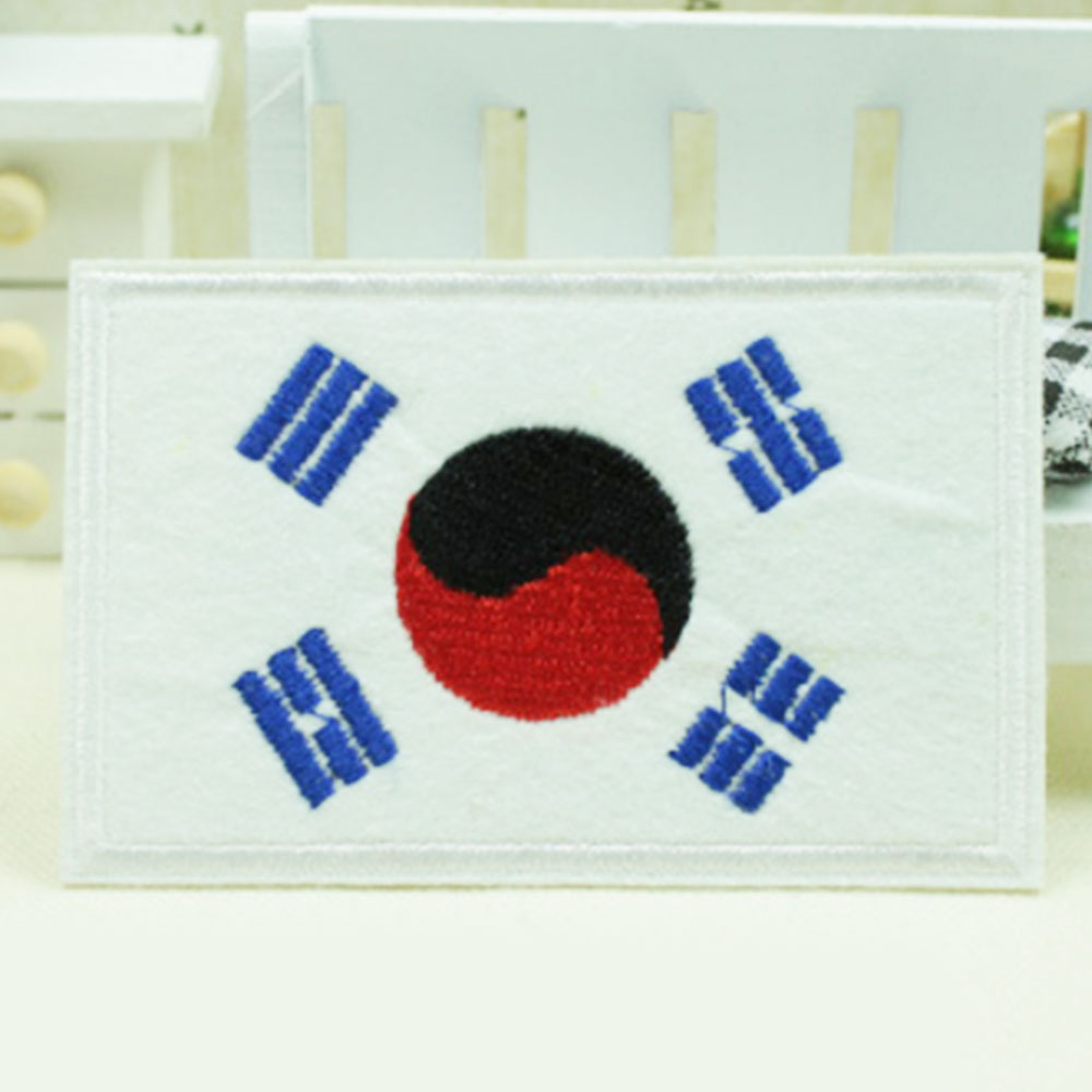80B9-Nation-Flag-Emblem-Non-Woven-Patch-Sewing-Embroidered-Sew-Patches-9-6CM