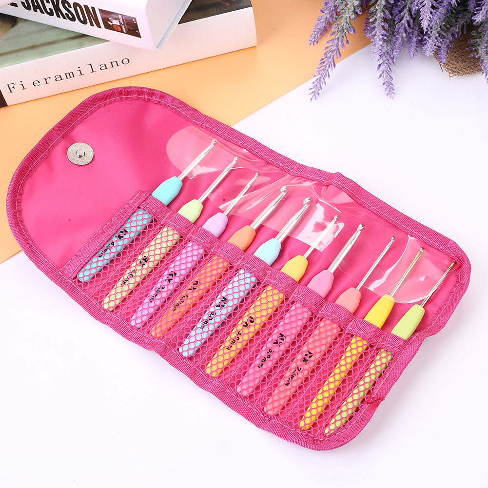 5BAC-Pouch-Knitting-Crochet-Case-Yarn-Holder-Nylon-Storage-Organizer-Print-Bag