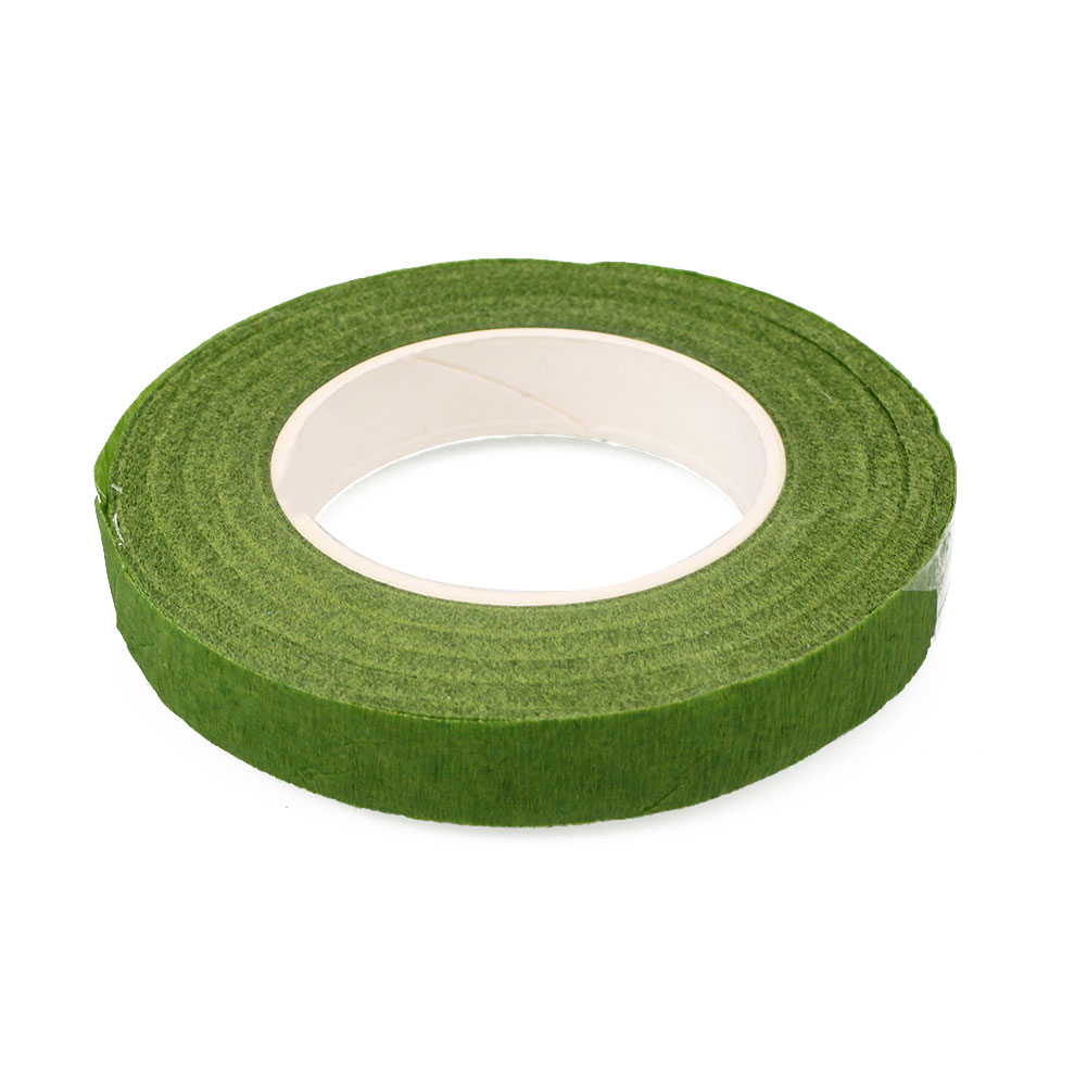 E76E-Wrapped-Florist-Floral-Stem-Tape-Green-Plants-Flower-Wire-Wrap-Decor-8M