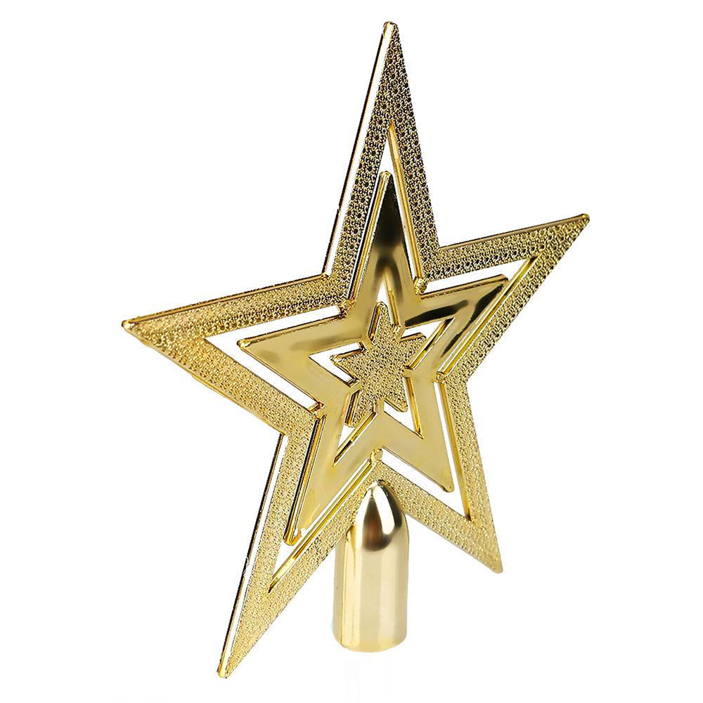 A2B9-Christmas-Tree-Decorative-Golden-Topper-Star-Xmas-Festival-Ornament-Decor