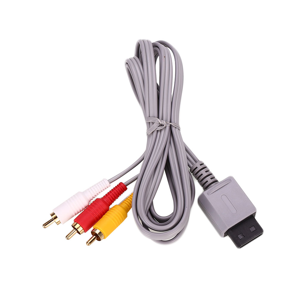 DE51B1B 6FT 1.8m Audio Video AV 3 RCA Video Composite Cable For ...
