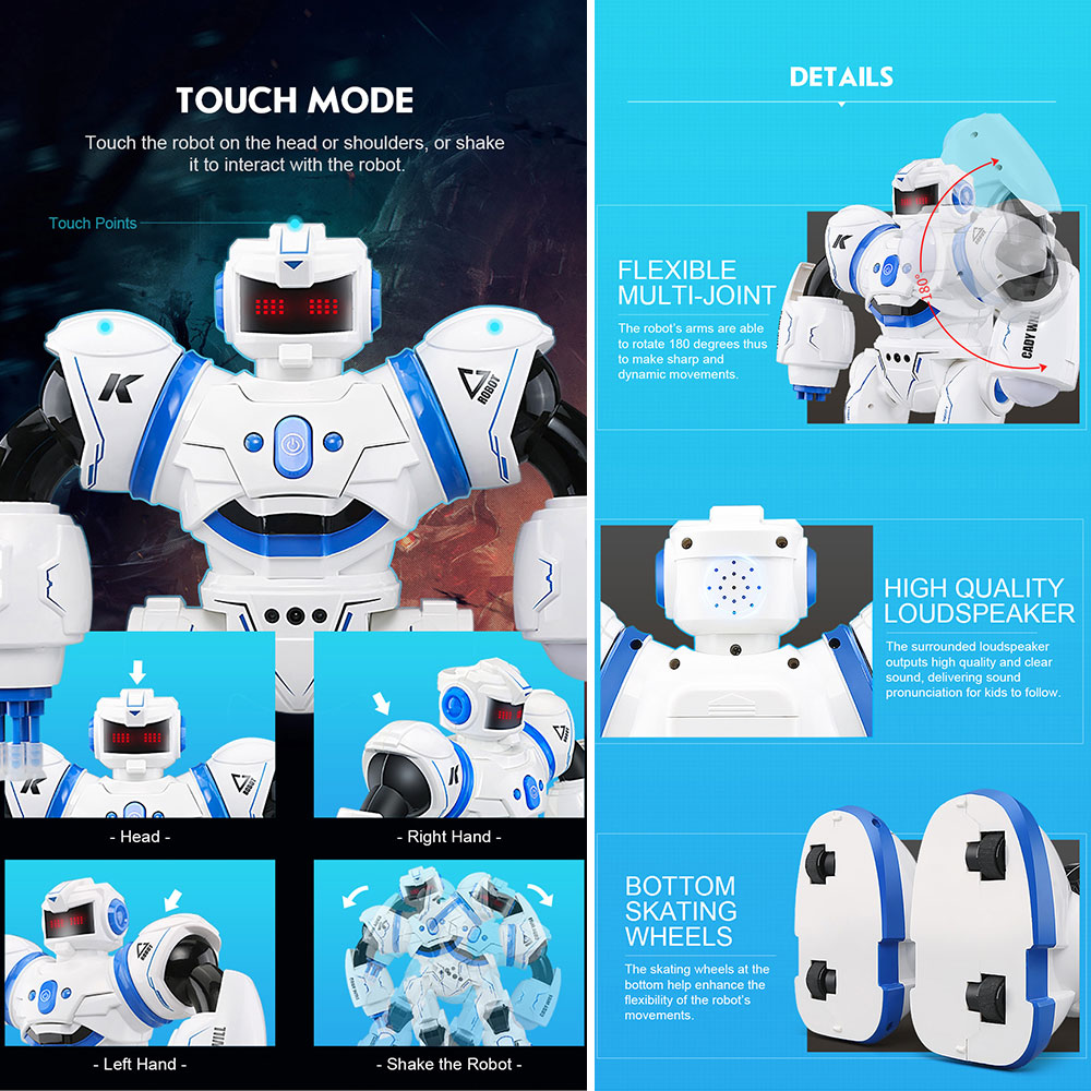 B9CA Tanzen  Intelligent  Multi-Modus  Multi-Modus Multi-Modus   Roboter  2.4GHz  Roboter a0193a