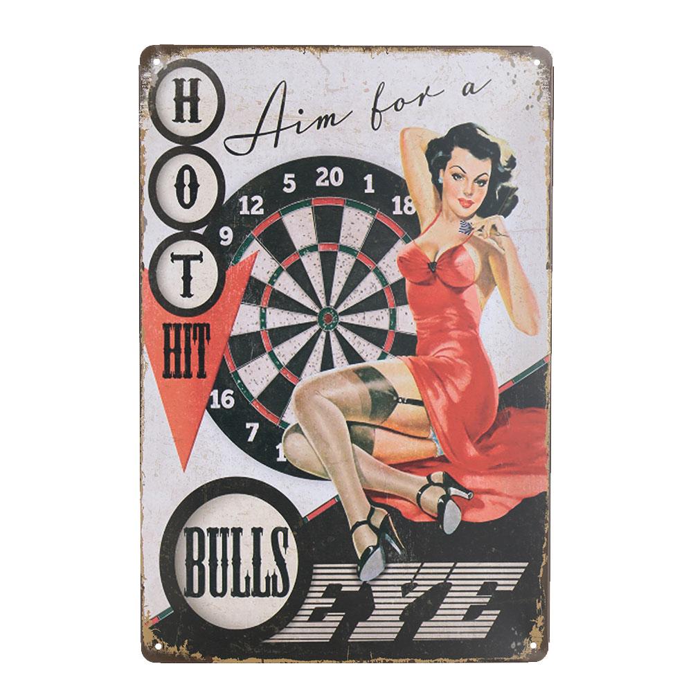 C27E-Sexy-Girl-Metal-Tin-Signs-Wall-Plaque-Club-Pub-Home-Bar-Poster-Ornament