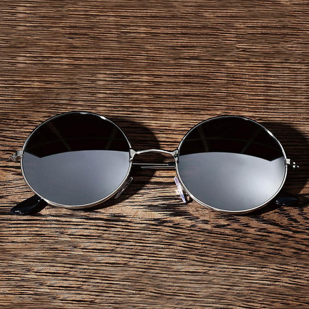 D7E1-Unisex-Sunglass-UV400-Metal-Round-Eye-Glasses-Retro-Spectacles-Optical