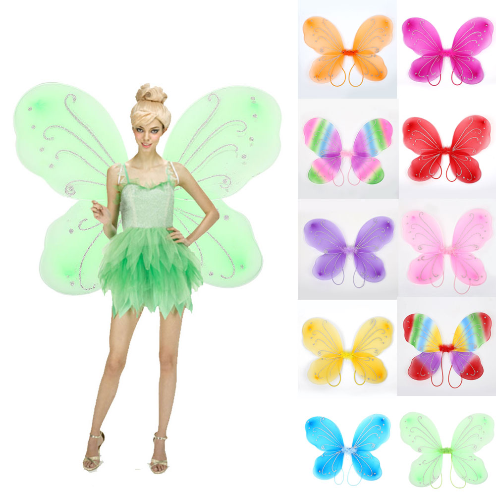 D144-Girls-DIY-MA1-NEW-Beautiful-Elf-Fairy-Wing-Dress-Up-Butterfly-Wings-Gift