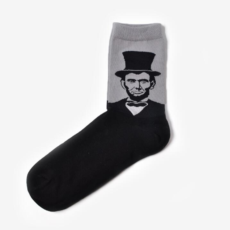 5395-Adult-Unisex-Man-Woman-Figure-Head-Ankle-High-Socks-Thigh-Gift-Clothing