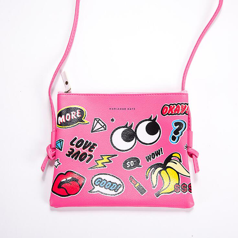 E5F1-Lady-Woman-Cartoon-Graffiti-Leather-Shoulder-Bag-Casual-Messenger-Bags