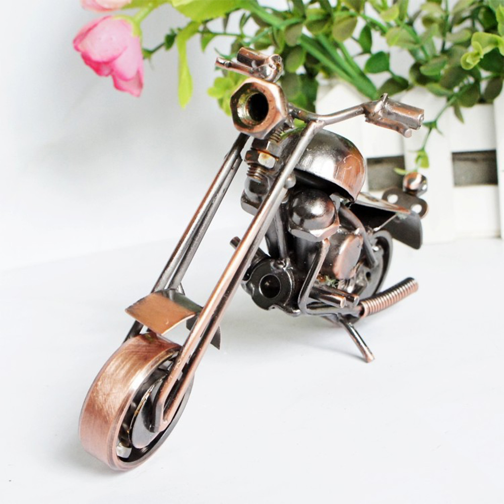 A164-Excellent-Fashion-Motorbike-Figurines-Motorcycle-Sculpture-Gift
