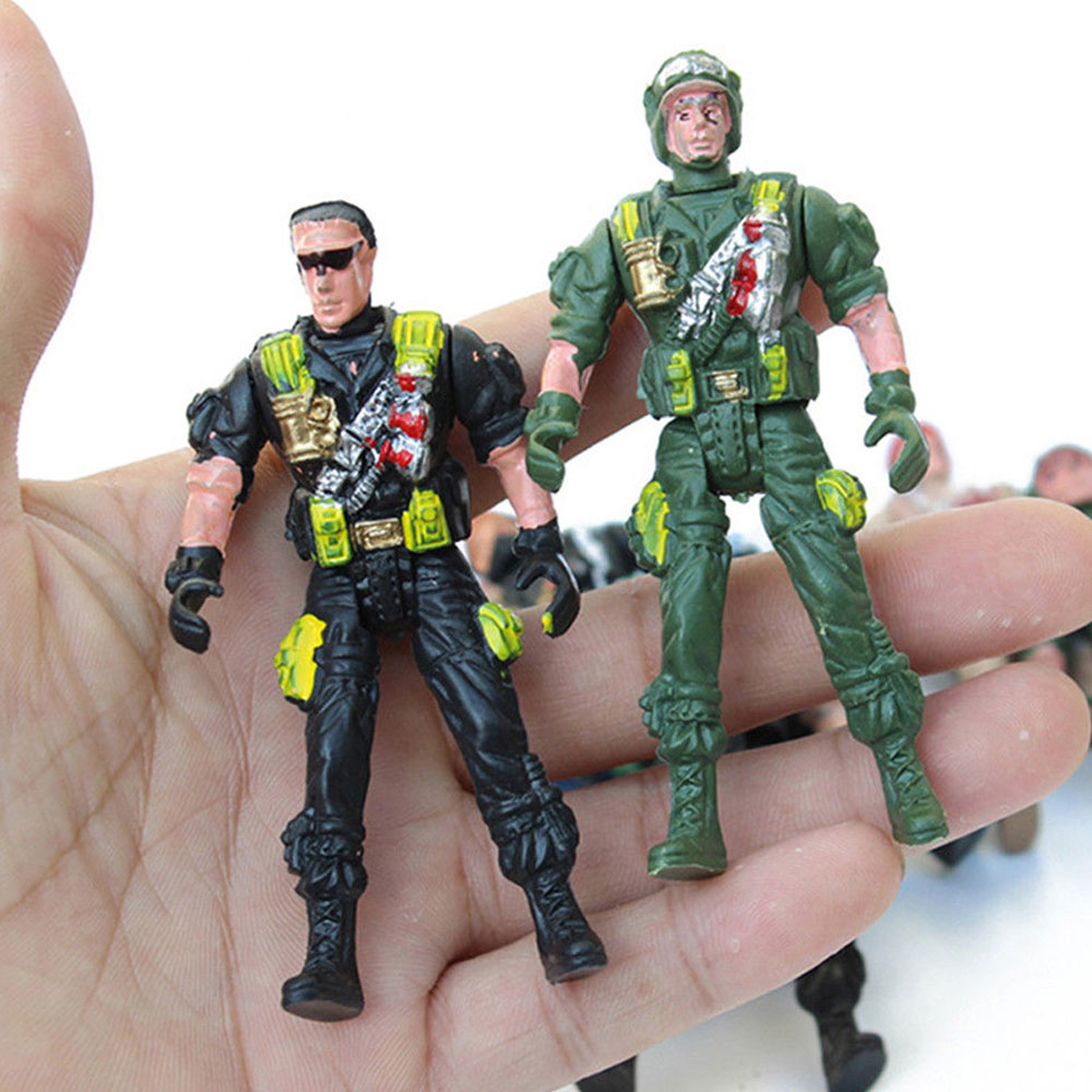 Army Toys Color : Fc a e soldier toy war model combat army boy toys