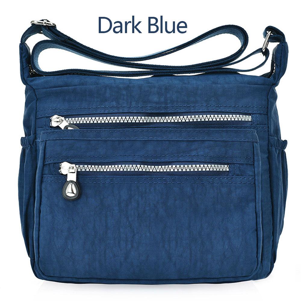 E724-Satchel-Nylon-Solid-Color-Wallet-Handbags-Teenager-Leisure