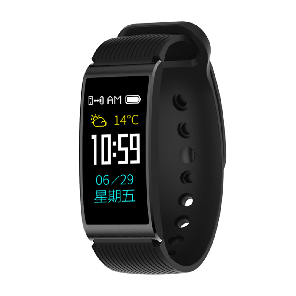 smartband x3hr farbdisplay smartwatch pulsuhr blutdruck. Black Bedroom Furniture Sets. Home Design Ideas