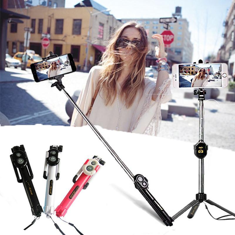 6807-Selfie-Stick-Mount-Holder-Handheld-Control-Bluetooth-for-Samsung