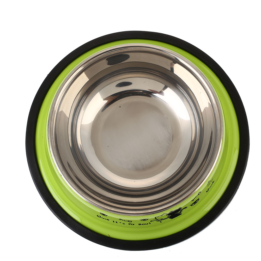 4EB8-Pet-Dish-Cat-feed-Pet-Feeding-Bowl-Water-Bowl-Stainless-Steel-Colorful