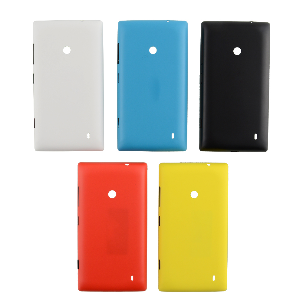 CQM Battery Back Cover Door Case Cover For Nokia Lumia 520 Phone Replacement Black ...