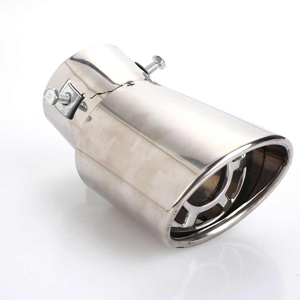 B6E5 Diameter 63-86mm Vehicle Exhaust Tail Car Accessory Car Tail Pipe End Tip