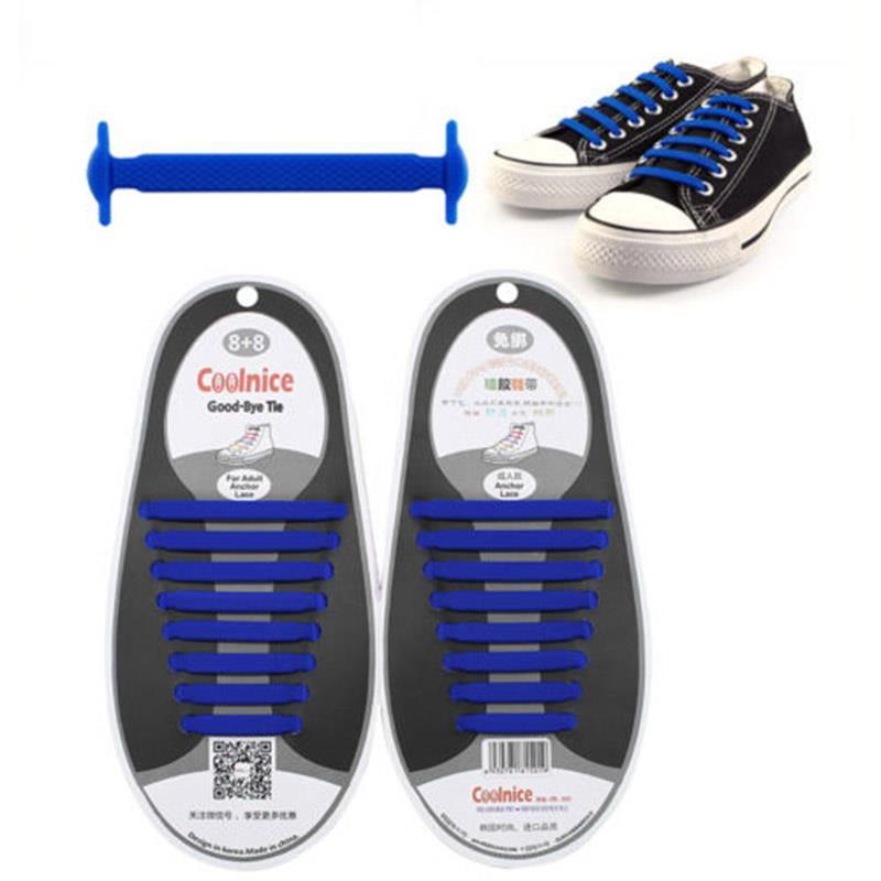 427B-16Pcs-Unisex-Adult-Kids-Lazy-No-Tie-Shoelaces-Elastic-Laces-Fit-Sneakers