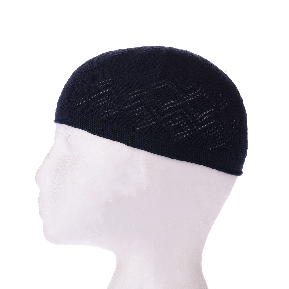 263E-Boy-Men-Kufi-koofi-Hat-Topi-Skull-Cap-Islamic-Muslim-Prayer-Head-Clothing