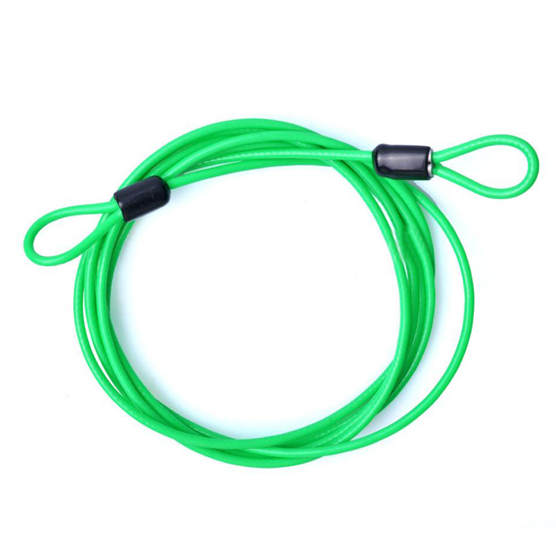 FB8E-2017-200CM-x-2-5MM-Cycling-Sport-Security-Loop-Cable-Lock-Coiling-Bike