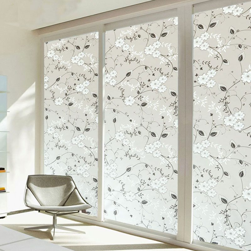 FEEA-Frosted-Glass-Sticker-Flowers-Window-For-Privacy-Home-Room-Decorations