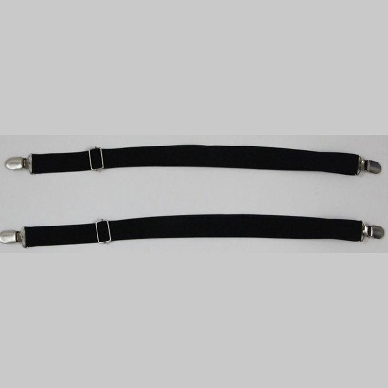 C5F3-2PCS-Holders-Elastic-Shirt-Garter-1Pair-Non-Slip-Locking-Belt-Suspenders