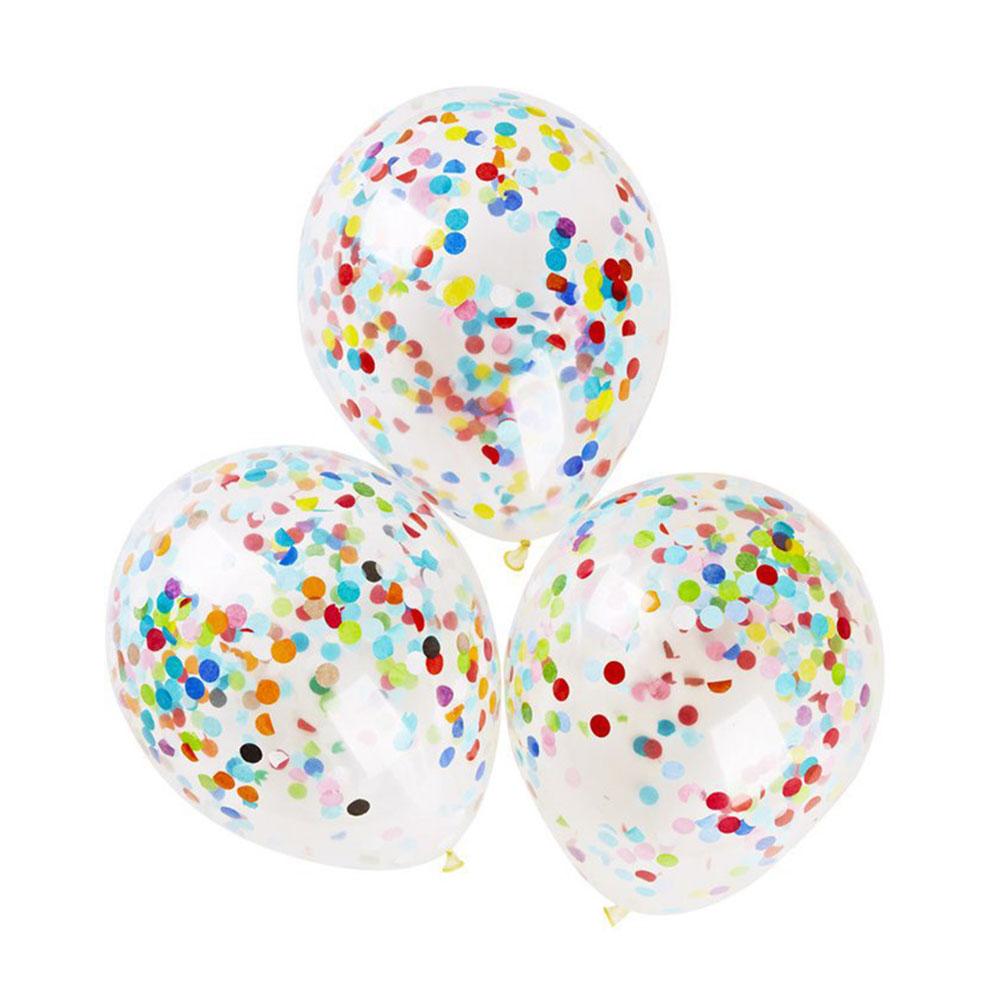 16DC-12-039-039-Gold-Foil-Confetti-Latex-Balloons-Helium-Wedding-Birthday-Party-Decor