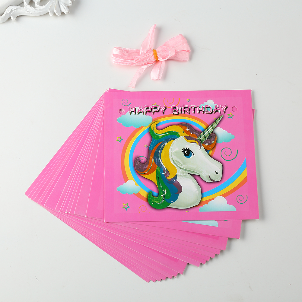 DF35-Unicorn-Theme-Party-Decoration-Happy-Birthday-Paper-Cup-Plated-Hat-Popcorn