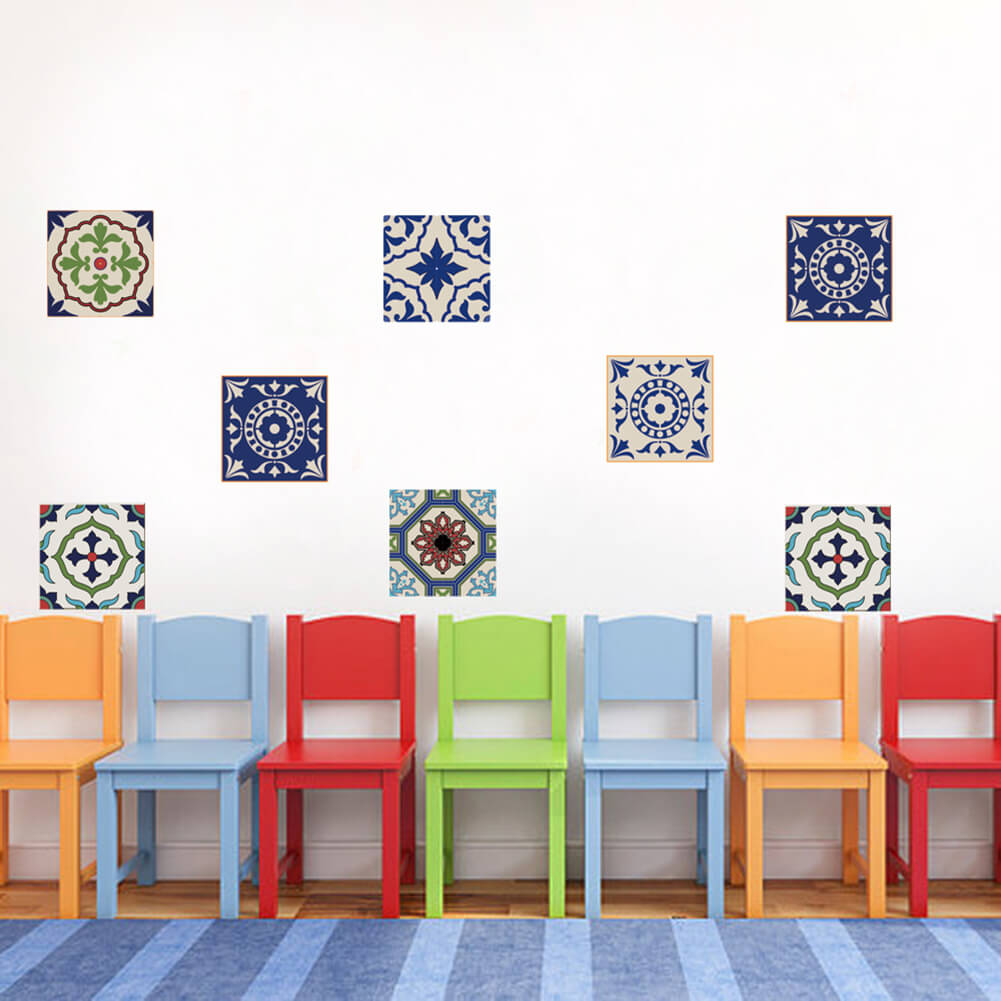 55EF-Tile-Wall-Stickers-Office-Home-Durable-Removable-3-Pattern-DIY