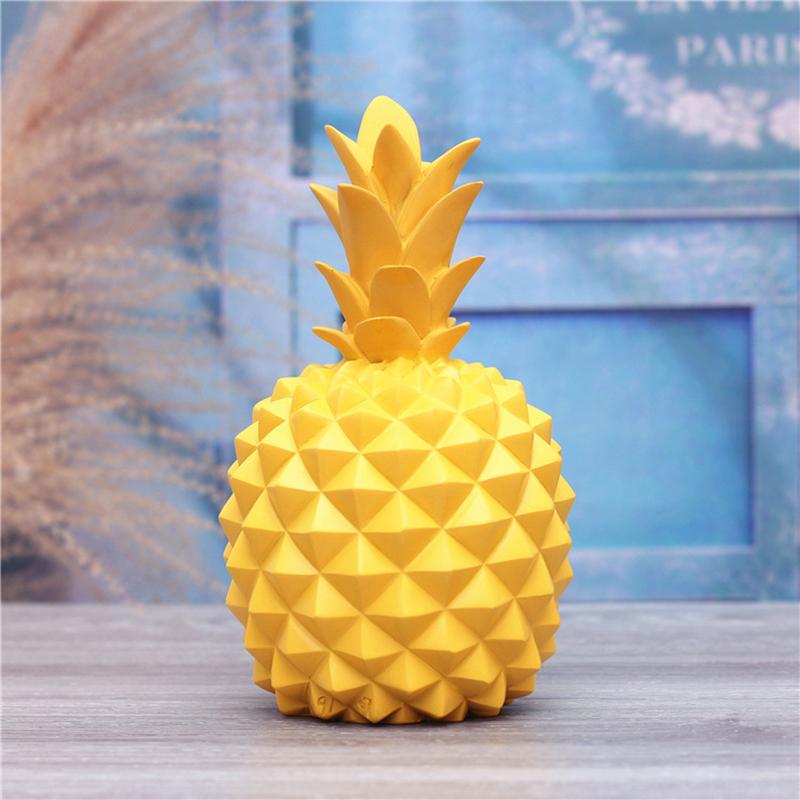 7729-Yellow-Apple-Green-Ceramics-Piggy-Bank-Storage-Pineapple-Ornaments